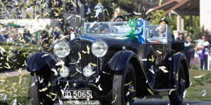 1931 Bentley 8 Litre Gurney Nutting Sports Tourer wins Best of Show at the Pebble Beach Concours d'Elegance