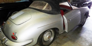 Barn find Porsche 356 Roadster in Florida