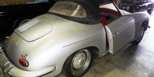 Barn find Porsche 356 Roadster in Florida