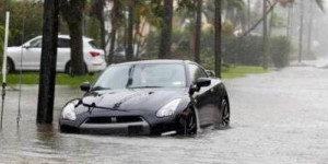 Hurricane Dorian - vehicle flood damage