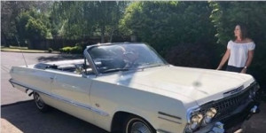 STOLEN! One owner from new 1963 Chevrolet Impala