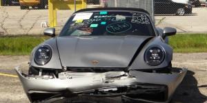 Wrecked Porsche?